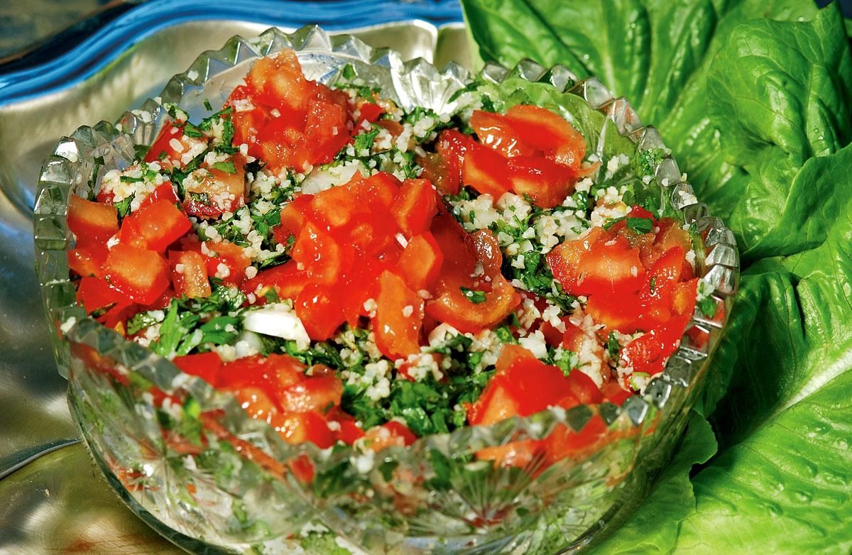Petrezselyem saláta