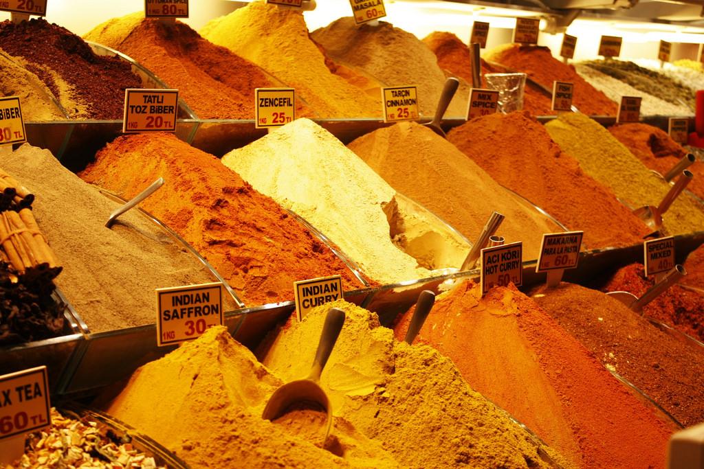 Fűszerek és az antioxidáns