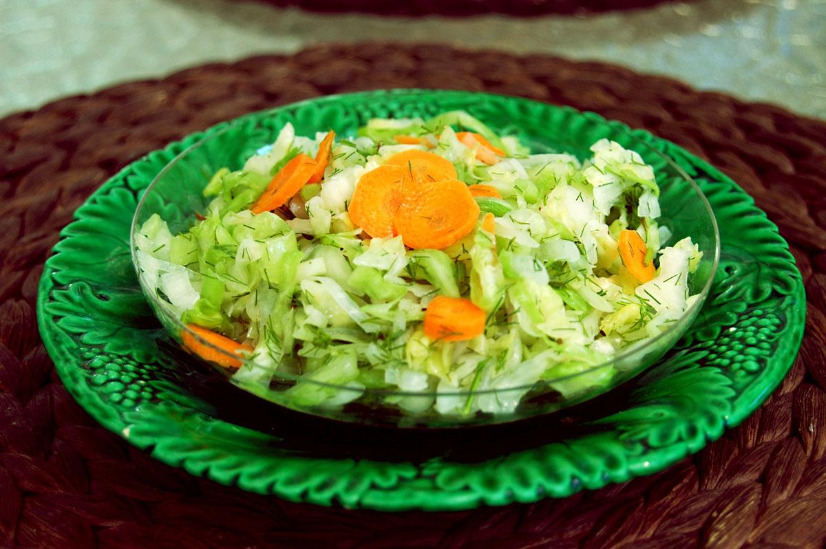 Kapros káposzta saláta