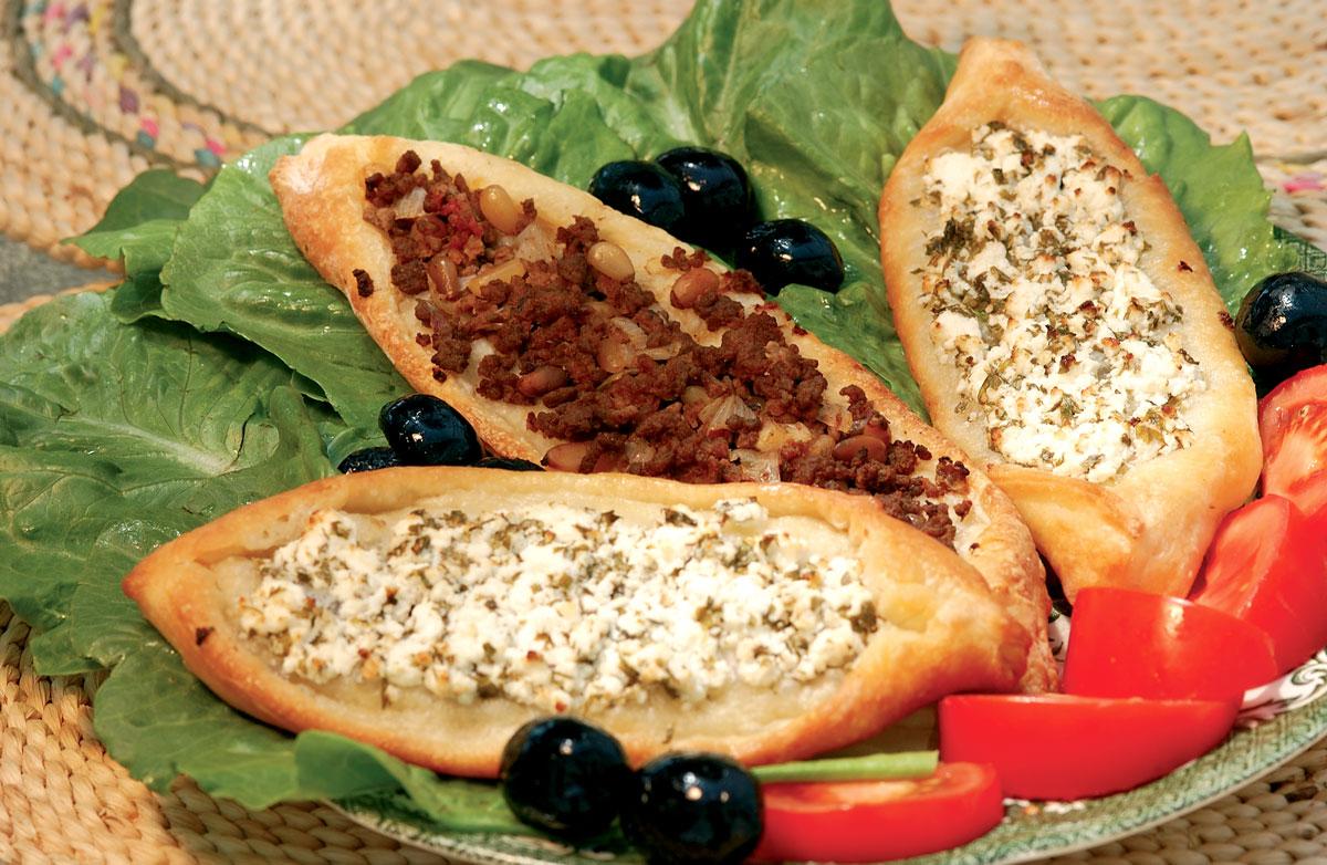 Egyiptomi (török) pizza