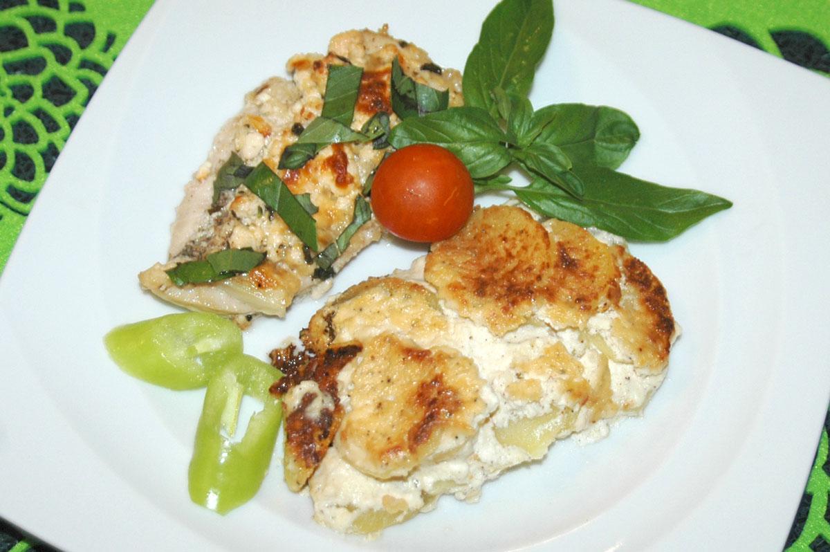4 sajtos csirkemell