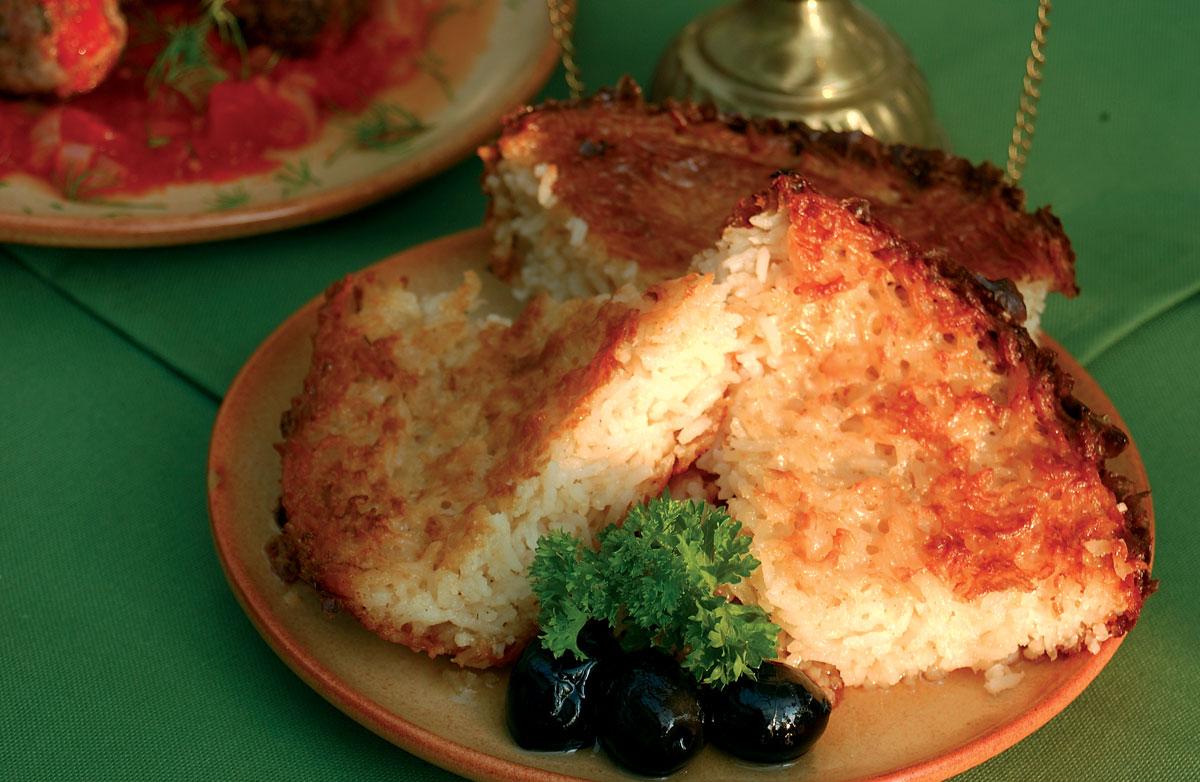 Egyiptomi pirított rizs