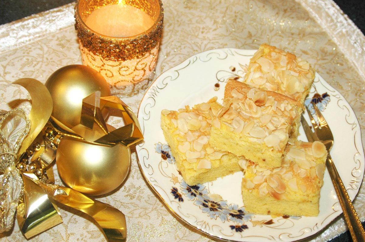 Király falatok – könnyű, mandulás süti