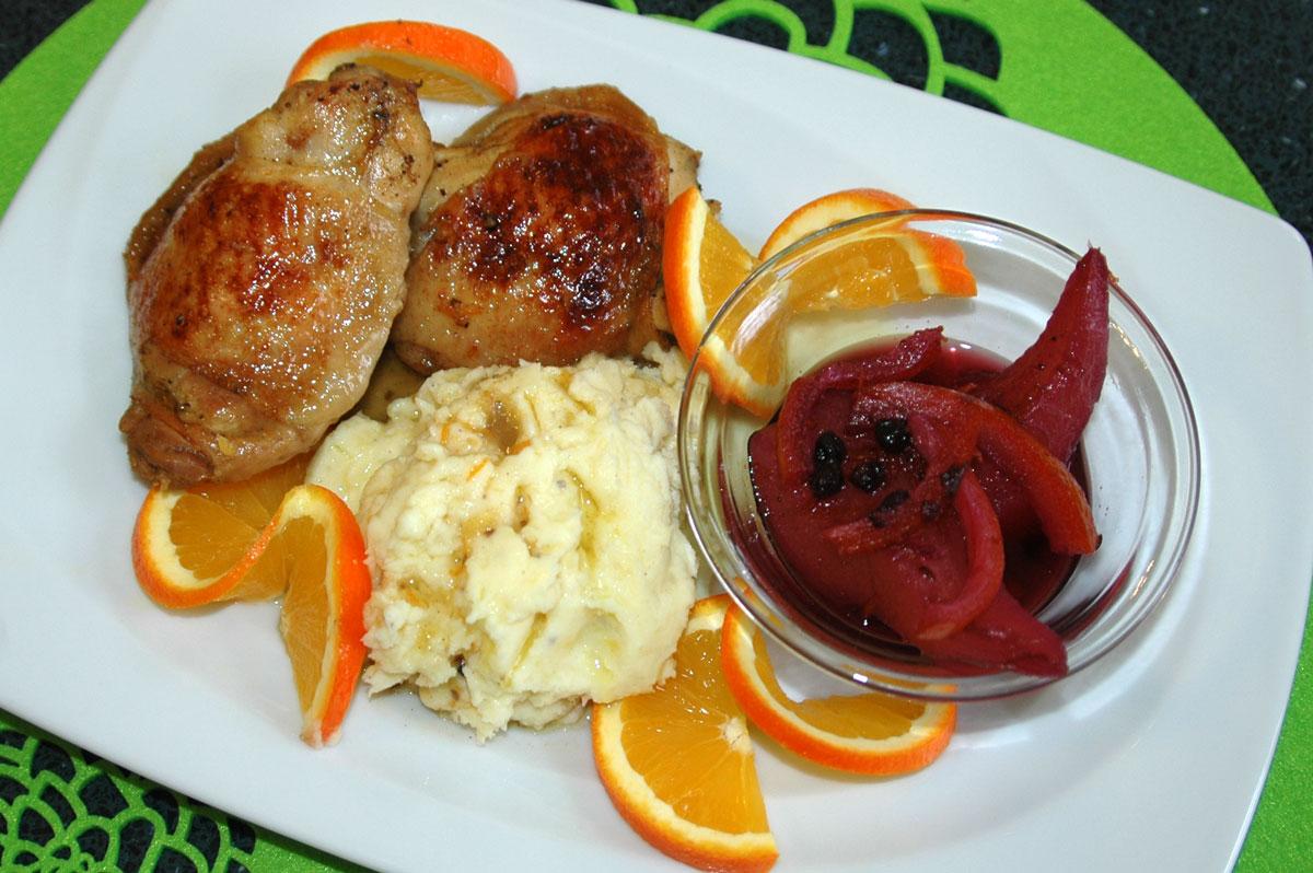 Narancsos csirke