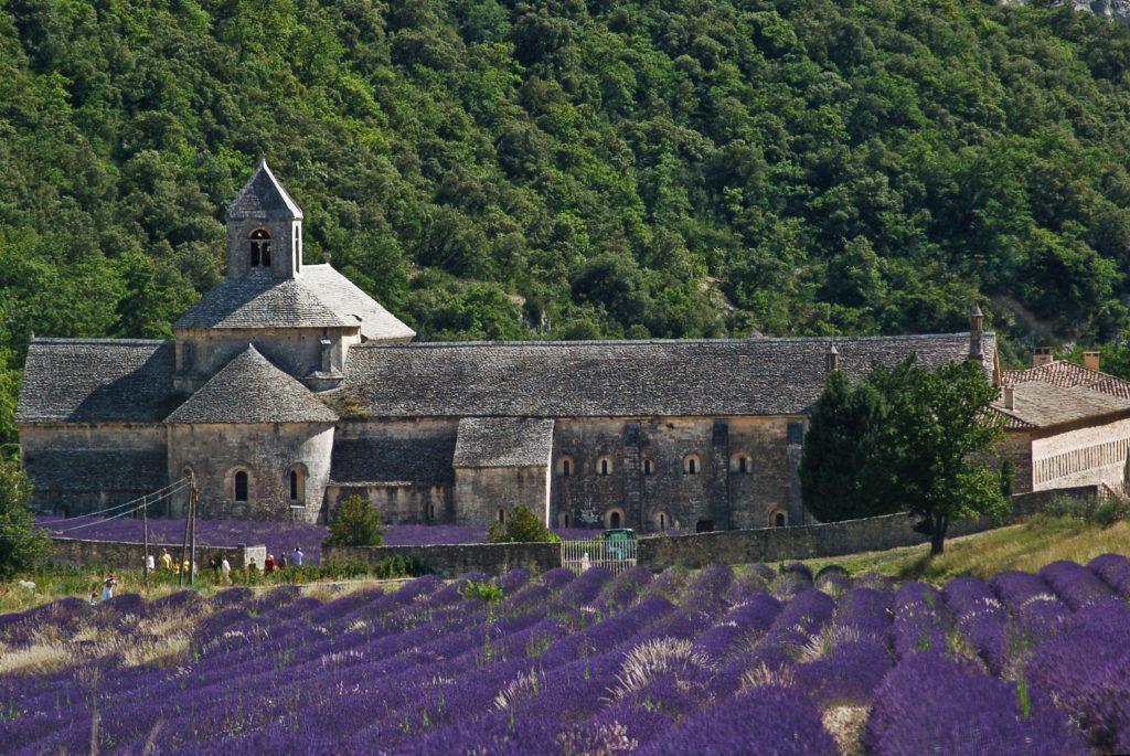 Provence látkép