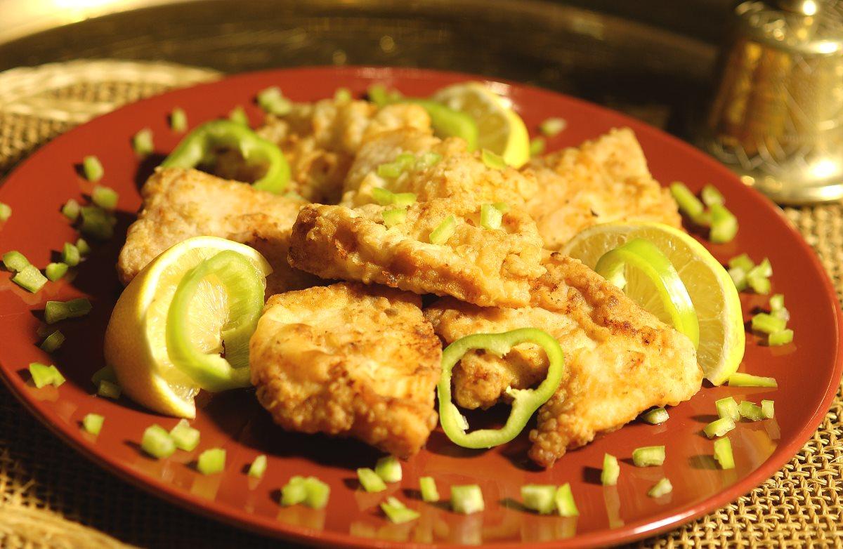 Fűszeres sült hal