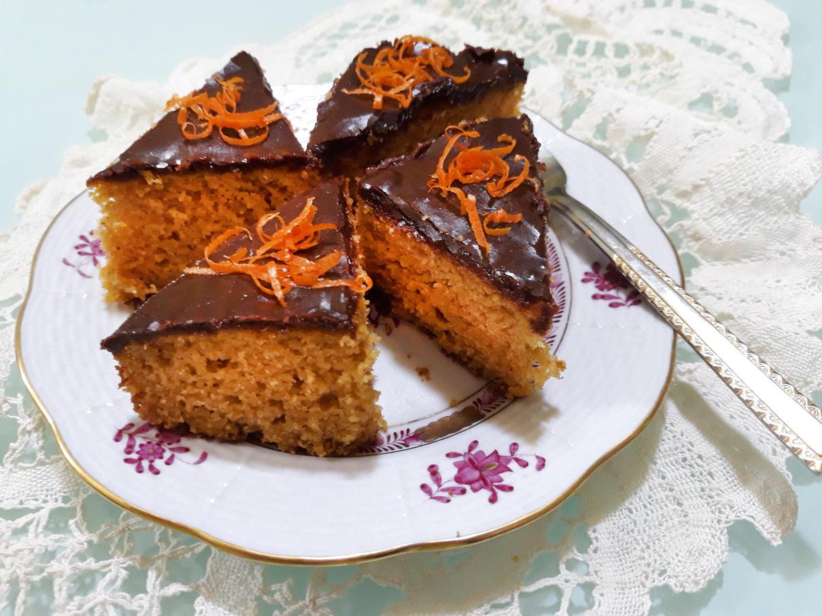 Narancsos sütőtök süti