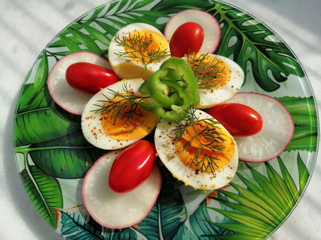 Mediterrán marinált tojás