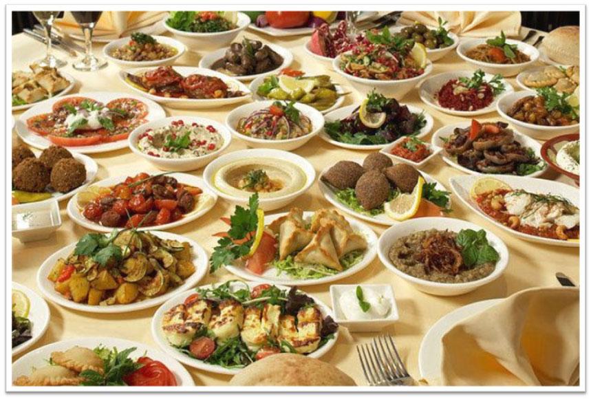 Libanoni 100 féle előétel